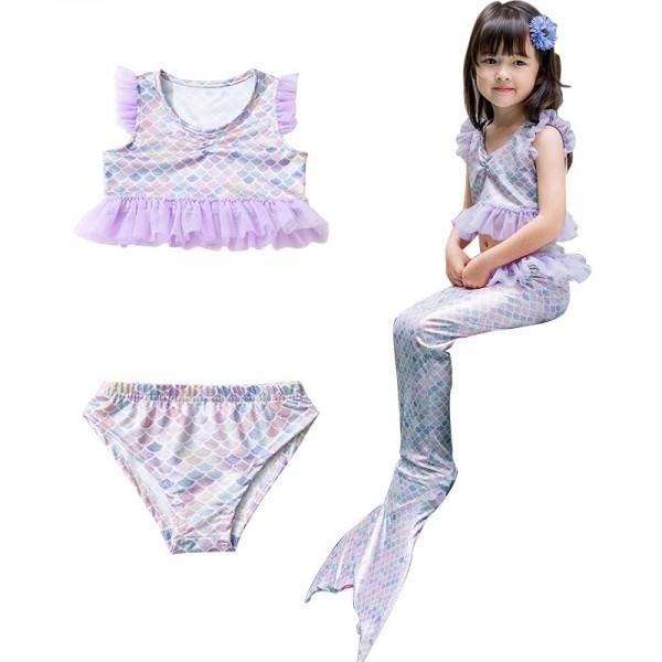 Mermaid Bathing Suit Toddler For Girls Swimwear Mermaid Bikini Costume