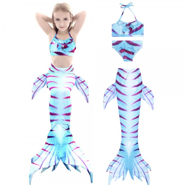 Swimmable Mermaid Tails Bikini Bathing Suit Swimming For Girls Sale