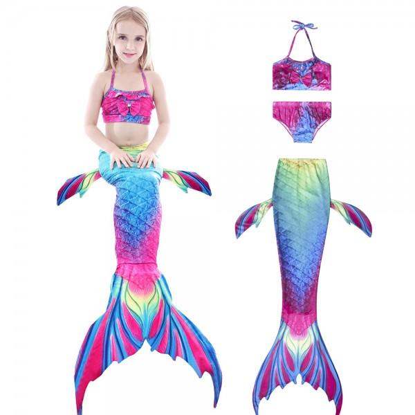 Mermaid Tails For Kdis Bikini Bathing Suit Swimming For Girls Mermaid Costume