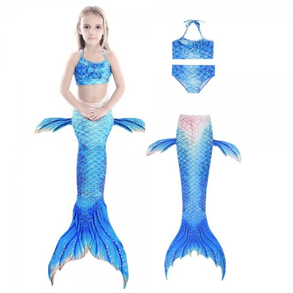 Mermaid Tails For Kdis Bikini Swimming Suit For Girls Mermaid Costume