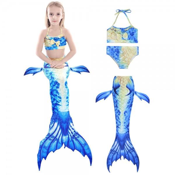 Mermaid Tails For Girls Swimming Suit Bikini Mermaid Costume