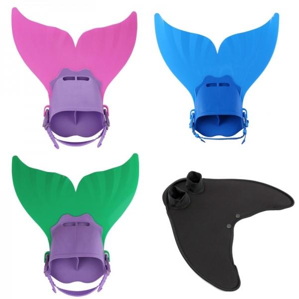 Monofin Matching Mermaid Tails Swimwear for Kids