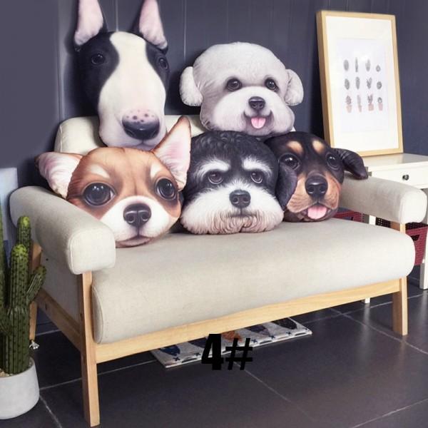 Lovely Dog Animal Pillow 3d Cartoon Pillow