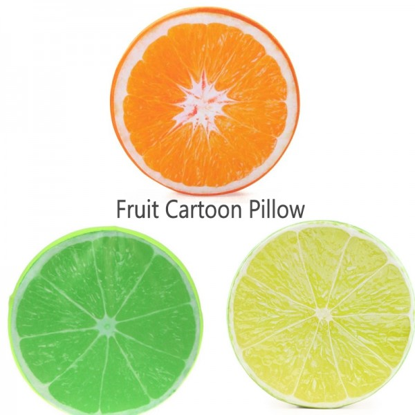 Cartoon Pillow Animal Pillow 3d Fruit Pillow