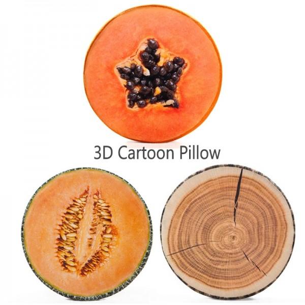 Cartoon Pillow Animal Pillow 3d Fruit Pillow