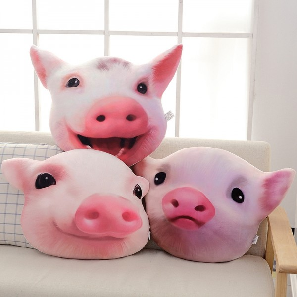 Pig Animal Pillow Cartoon Pillow 3D