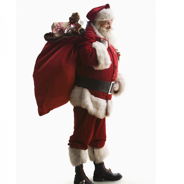 Santa Claus Costume Suit Outfit Christmas Costumes Full Sets