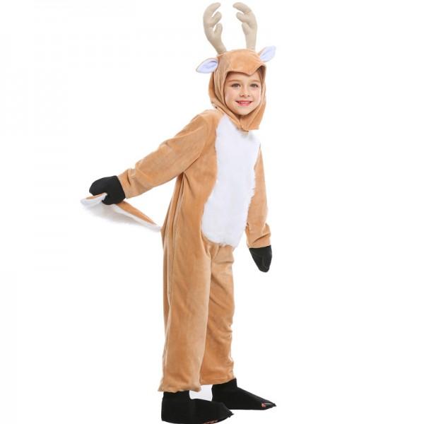 Reindeer Costume For Kids & Toddler Party Onesie Suit