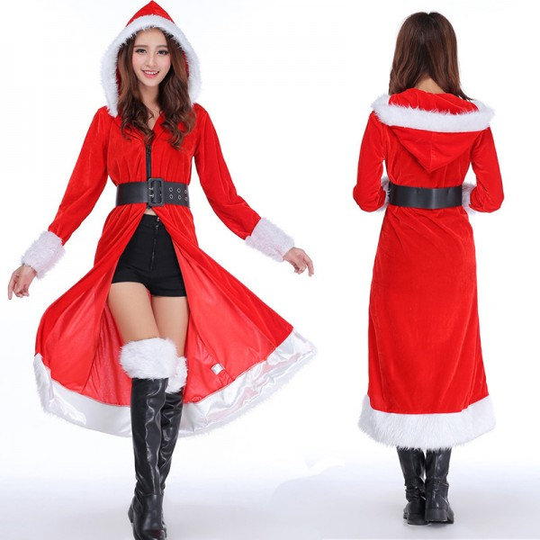 Mrs Claus Outfit Christmas Outfit Cloak For Women