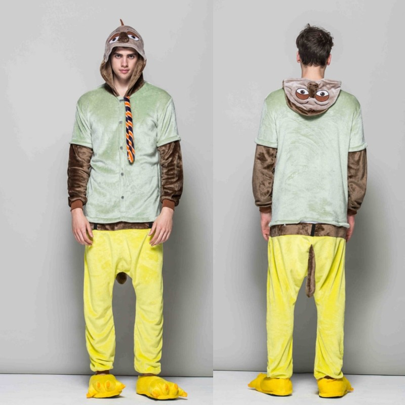 d5b062cda99b Flash Sloth Adult Animal Onesies Pajamas With Best Price