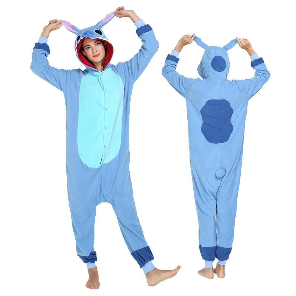 Lilo Stitch Costumes Adult Animal Onesie Pajamas Pjsbuy Com