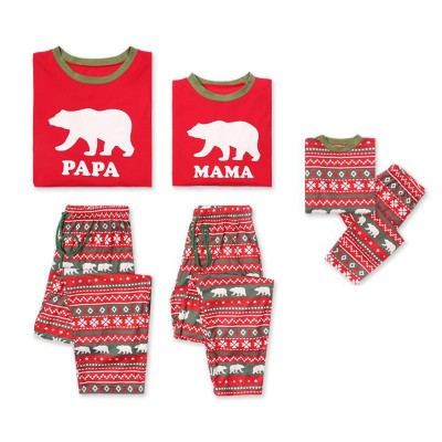 985c6a3b7 Adult & Kids Pajamas Matching Family Christmas Pajamas - Robesbuy.com