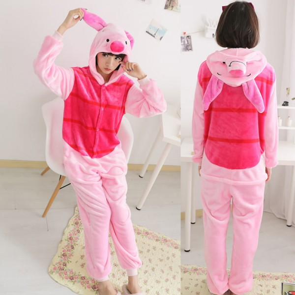 da35e3348022 Piglet Onesie Pajamas For Women   Men Quality Animal Costume For Sale
