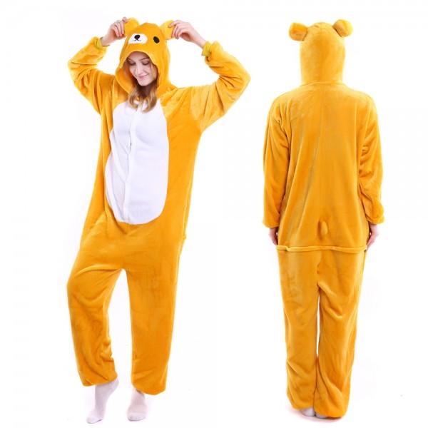 63feea03facf Rilakkuma Onesie Pajamas And Quality Adult Animal Onesies On Pjsbuy.com