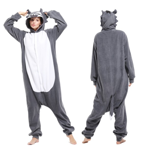 5df50ee03789 Wolf Onesie Adult Animal Onesies Pajamas With Best Price