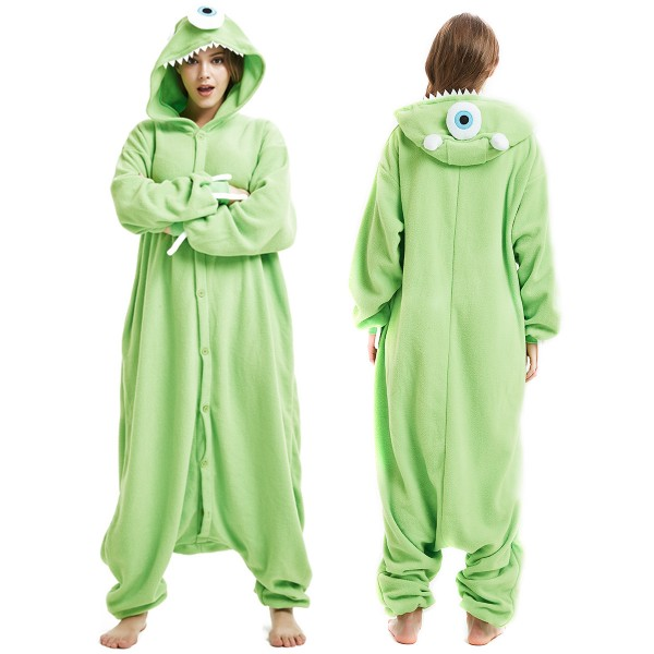fba66abd97b7 Buy Mike Wazowski Onesie Adult Animal Onesies At Pjsbuy.com